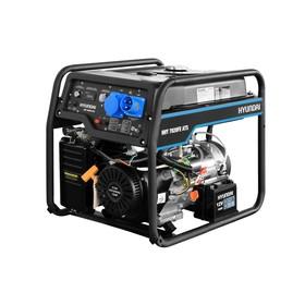 Генератор бензиновый Hyundai HHY 7020FE, 5.5 кВт, 220 В, ручной/электростартер, автозапуск