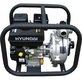 Мотопомпа бензиновая Hyundai HYH 50, 5.2 кВт, 7 л/с, 210 см3, 500 л/мин, для чистой воды
