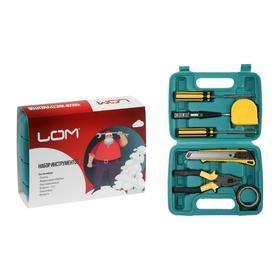 Набор инструментов в кейсе LOM 'С Новым Годом', подарочная упаковка, 7 предметов Ош