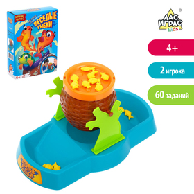 "A Board game for developing logic skills and fine motor skills ""Funny fish"", n SL-02780"