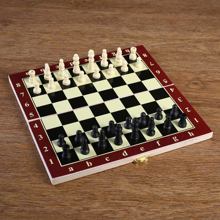 Шахматы настольные, поле 24 × 24 см