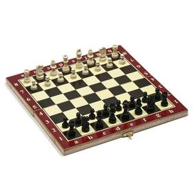 Шахматы, дерево,  игровое поле 29x29 см