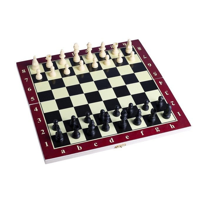 Настольные шахматы, поле 34 × 34 см