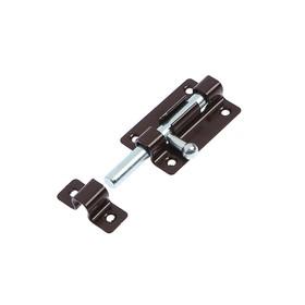 Задвижка накладная ЗТ5 полимер, коричневый, 150 шт. Ош