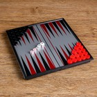 Backgammon magnetic field of 20 × 20 cm, in box