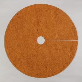 Круг приствольный, d = 0,9 м, из кокосового полотна, набор 5 шт., «Мульчаграм»