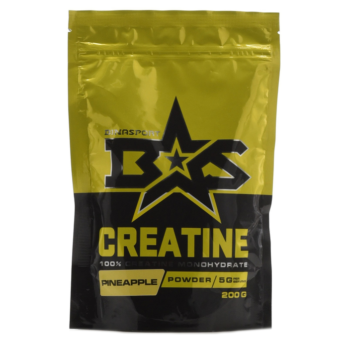 Binasport CREATINE, ананас, 200 г