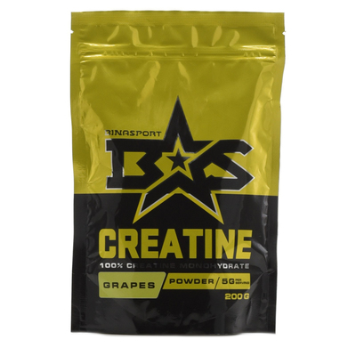 Binasport CREATINE, grapes, 200 g