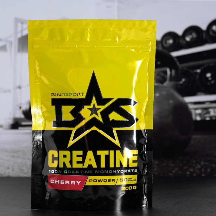 Binasport CREATINE, вишня, 200 г