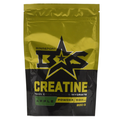 Binasport CREATINE, Apple, 200 g
