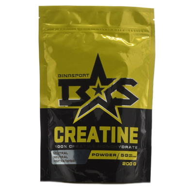 Binasport CREATINE, natural flavor, 200 g