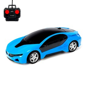 Car RC Coupe, light, runs on batteries, MIX