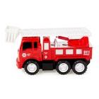 Конструктор винтовой «Пожарная машина», 20 деталей, с отверткой и насадками - фото 105577948