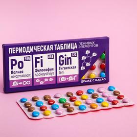Драже шоколадное «Ленивые элементы»: 20 г. в Донецке