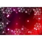 Фотобаннер, 300 × 200 см, с фотопечатью, «Снежинки»