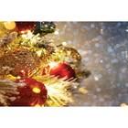 Фотобаннер, 300 × 200 см, с фотопечатью, «Праздничное мерцание»