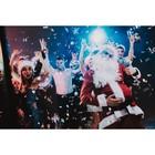 Фотобаннер, 300 × 200 см, с фотопечатью, «Новогодняя туса»