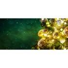 Фотобаннер, 300 × 200 см, с фотопечатью, «Светящаяся гирлянда»
