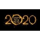 Фотобаннер, 300 × 200 см, с фотопечатью, «Счастливый 2020»