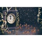 Фотобаннер, 250 × 200 см, с фотопечатью, «Часы 12 бьют»