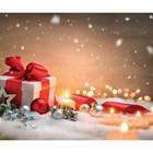 Фотобаннер, 250 × 200 см, с фотопечатью, «Новогодний подарок»