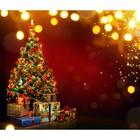 Фотобаннер, 250 × 200 см, с фотопечатью, «Подарки под ёлкой»