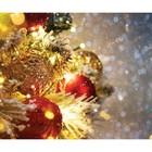 Фотобаннер, 250 × 200 см, с фотопечатью, «Праздничное мерцание»