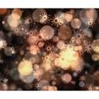 Фотобаннер, 250 × 200 см, с фотопечатью, «Снежинки и мерцание»