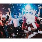 Фотобаннер, 250 × 200 см, с фотопечатью, «Новогодняя туса»
