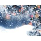 Фотобаннер, 250 × 200 см, с фотопечатью, «Снег»