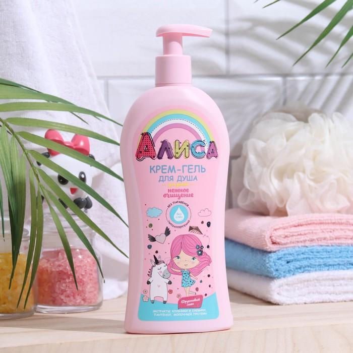 """Крем-гель для душа детский """"Алиса"""" нежное очищение, 350 мл"""