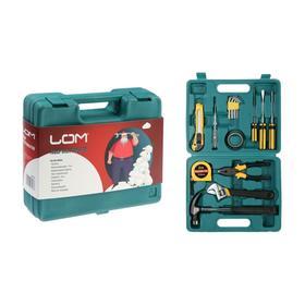 Набор инструментов в кейсе LOM 'С Новым Годом', подарочная упаковка, 15 предметов Ош