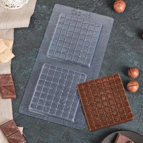 "Form for chocolate ""Mini-chocolate"" 21,5x11 cm"
