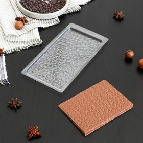 "Форма для шоколада 19х9,5 см ""Шоколад пористый"""