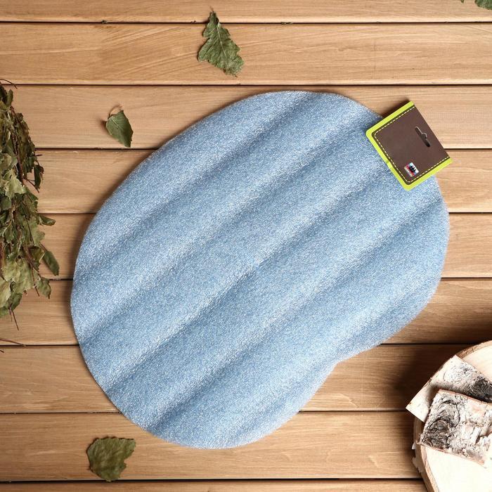 Коврик для бани и сауны «Классический», микс, 44 × 32 см