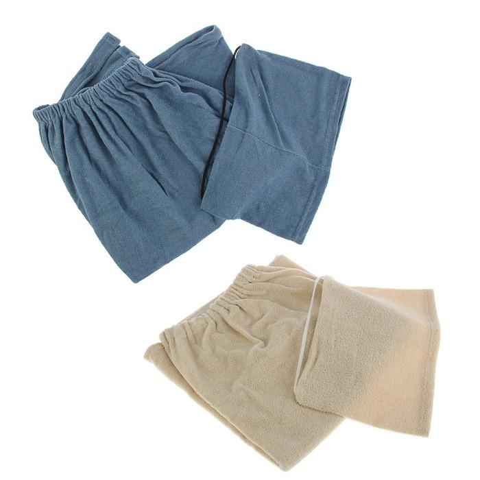 Набор банный мужской «ГлавБаня»: шапка, килт, текстиль, микс