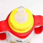 Набор бутылочек для кормления «Зебра» (125 мл, 300 мл.) цвет красный - фото 105537774