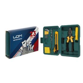 Набор инструментов в кейсе LOM '23 Февраля', подарочная упаковка, 11 предметов Ош