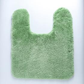 Коврик для туалета 50х50 см, цвет МИКС