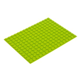 Base plate for the designer, small color Light green 25.5 x19 cm