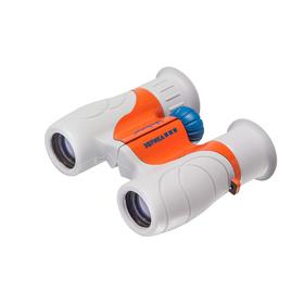 Бинокль детский Veber «Эврика», 6 × 21, G/O, цвет серый / оранжевый Ош