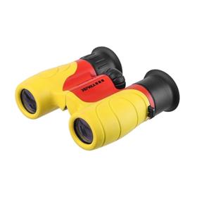 Бинокль детский Veber «Эврика», 6 × 21, Y/R, цвет жёлтый / красный