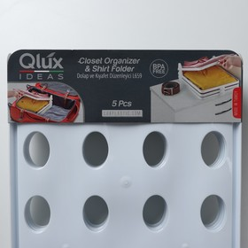 Органайзер для одежды 30×35,5×8,5 см, цвет МИКС - фото 4641317