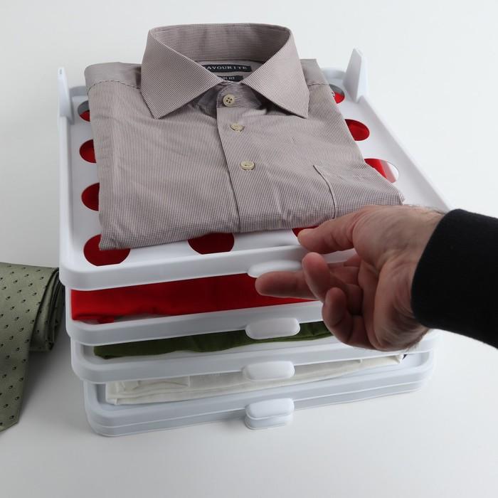 Органайзер для одежды 30×35,5×8,5 см, цвет МИКС - фото 4641314
