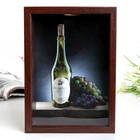 """Копилка """"Белое вино"""" 16,5х22,5 см"""