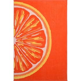 Полотенце махровое Grapefruit 100х150 см, оранжевый, хлопок 100% 460 гр/м2