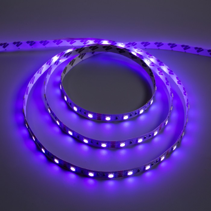 Светодиодная лента разноцветная Ecola, 60Led/m, 14.4 Вт/м, IP20, 3 м,10 мм, RGB