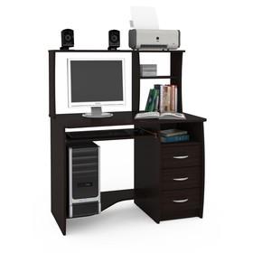 Стол компьютерный Комфорт 4, 1050х650х1249, Венге