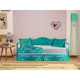 Кровать 1800 Ноктюрн, 1932х858х882, Изумрудный