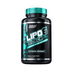 Жиросжигатель Nutrex Intl Lipo-6 Black Hers / 120 капс